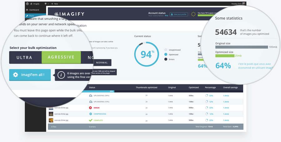 Imagify WordPress Image Optimization Plugin