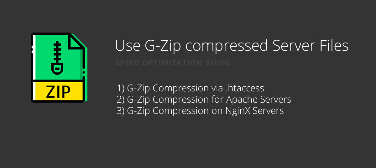 gzip Compression for website speed optimization