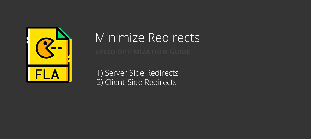 Minimize Redirects for website speed optimization