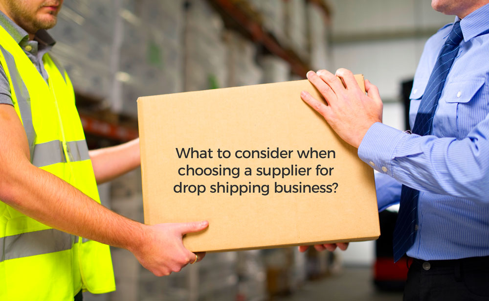 Supplier Considerations for dropshipping business model