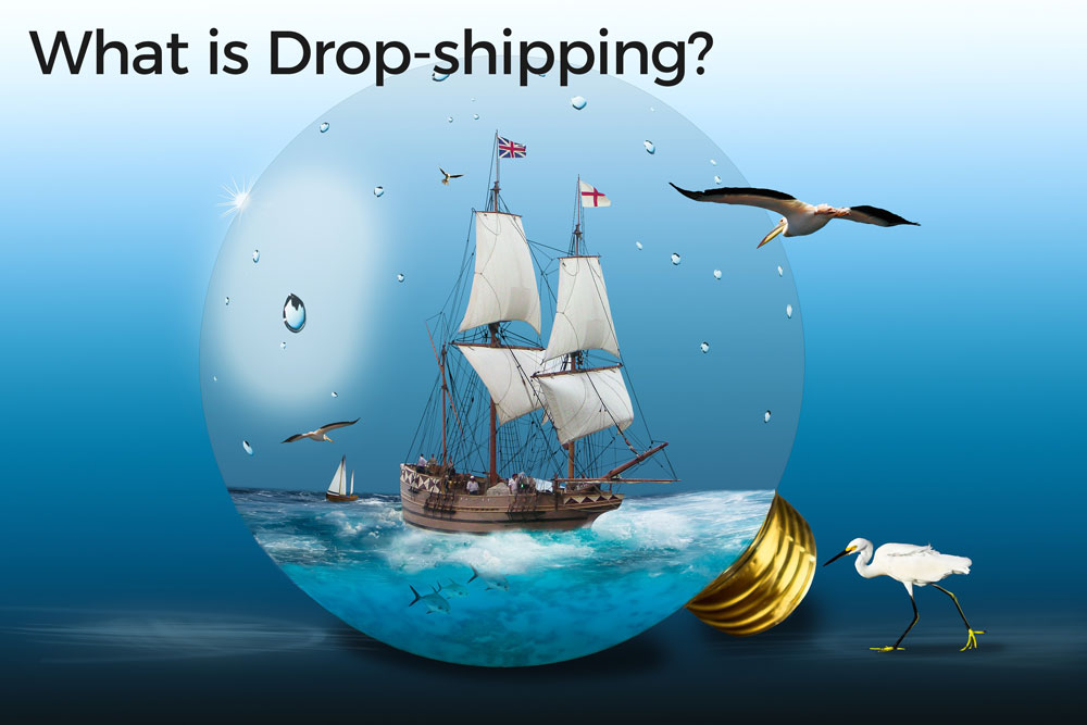 What is Drop Shipping and ecommerce platform comparison