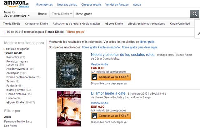 amazon free ebooks page