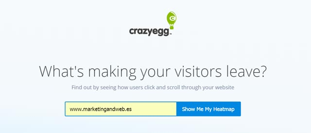 crazy egg online digital marketing tools