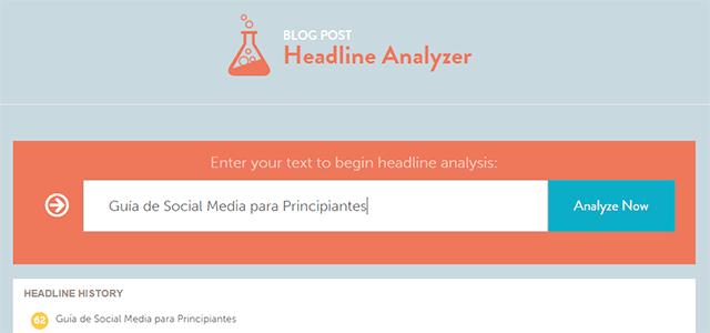 headline analyzer online digital marketing tools