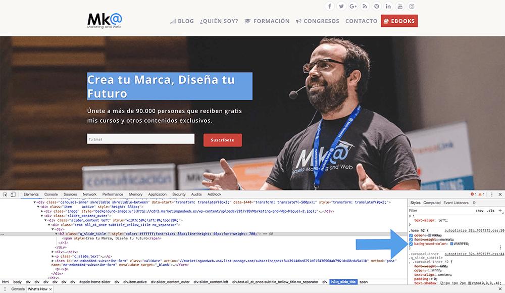 Modificar plantilla de WordPress con CSS