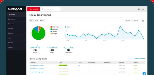 oktopost online digital marketing tools