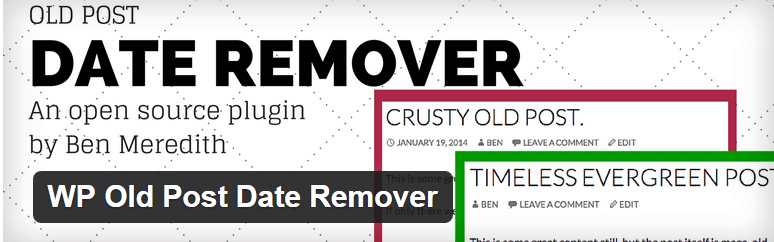 old post data remover
