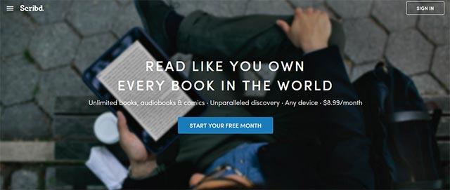 scribd free ebooks platform