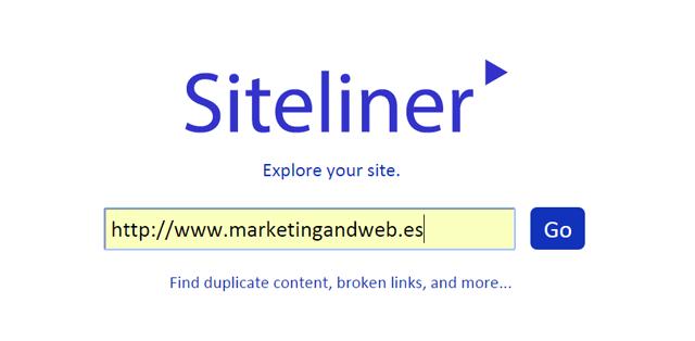 siteliner online digital marketing tools
