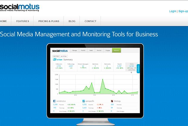 social motus online digital marketing tools