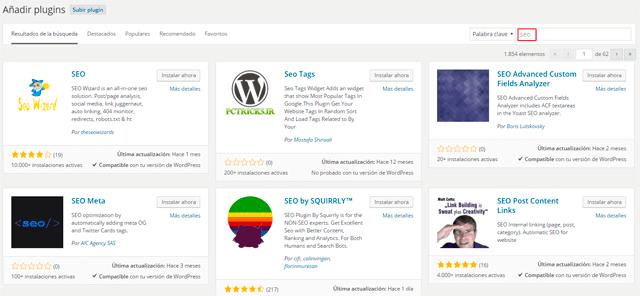 subir plugin wordpress