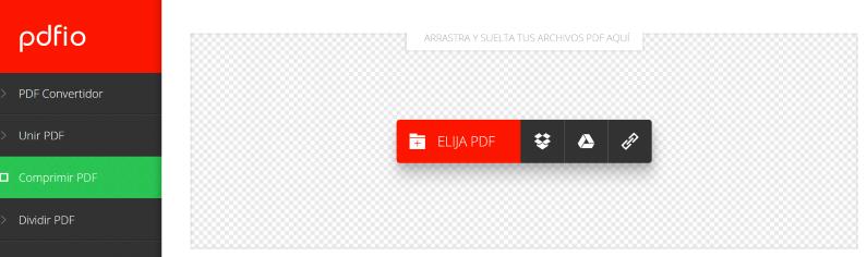 PDFio, Compress PDF Files Online