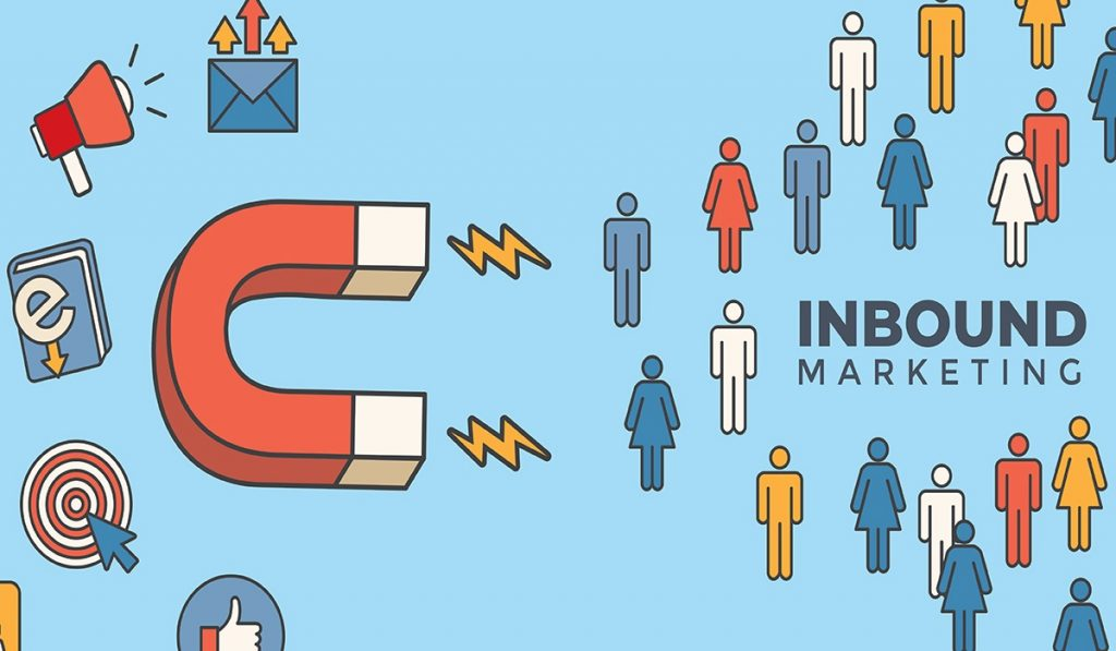 Incoming Header and Magnet Attracting New Claims and Generating Revenue with Inbound Marketing