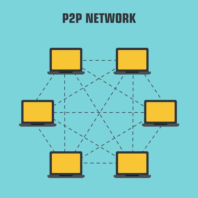 """Peer-to-peer Network """"p2p"""""""