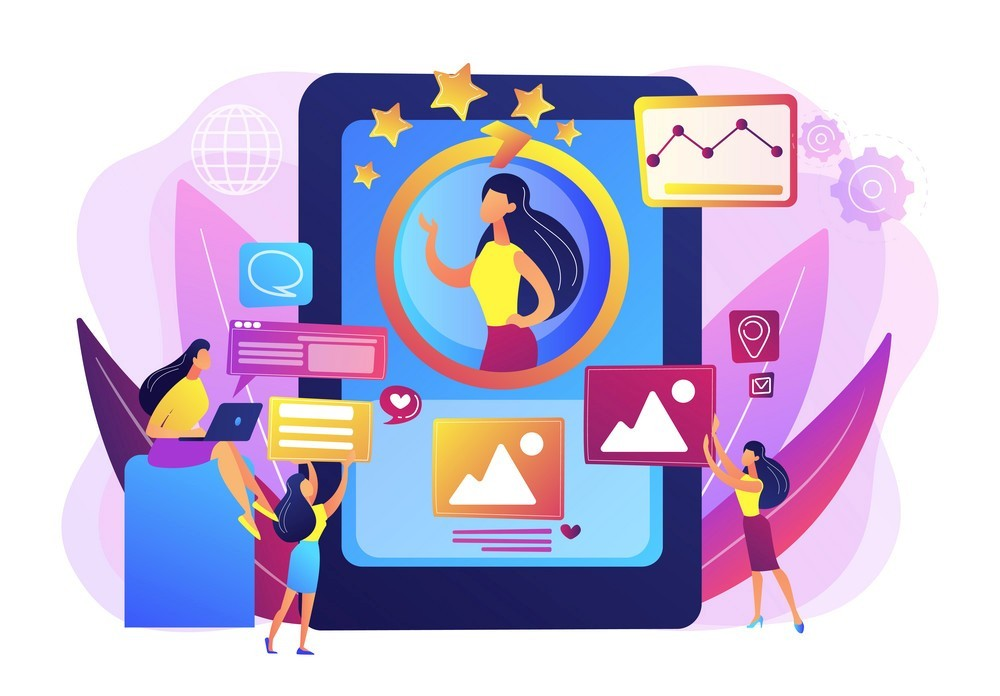 personal, Online identity management, digital Identity management, product web presence concept.